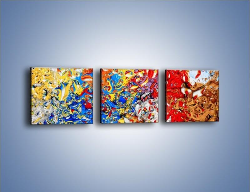 Obraz na płótnie – Każdy kolor coś znaczy – trzyczęściowy GR407W1