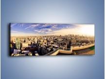 Obraz na płótnie – Panorama Nowego Jorku – jednoczęściowy panoramiczny AM650