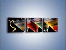 Obraz na płótnie – Alkoholowa zabawa do rana – trzyczęściowy JN100W1