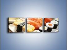 Obraz na płótnie – Azjatyckie posiłki – trzyczęściowy JN355W1