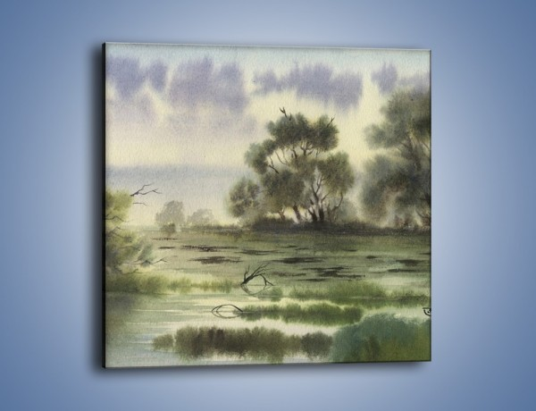 Obraz na płótnie – Smutek i melancholia – jednoczęściowy kwadratowy GR071