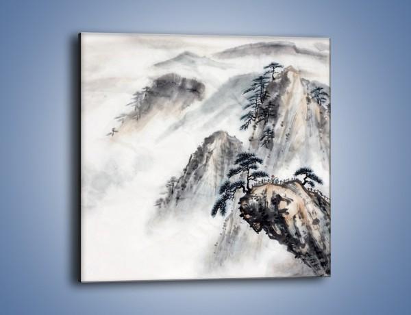 Obraz na płótnie – Widok z samej góry – jednoczęściowy kwadratowy GR075