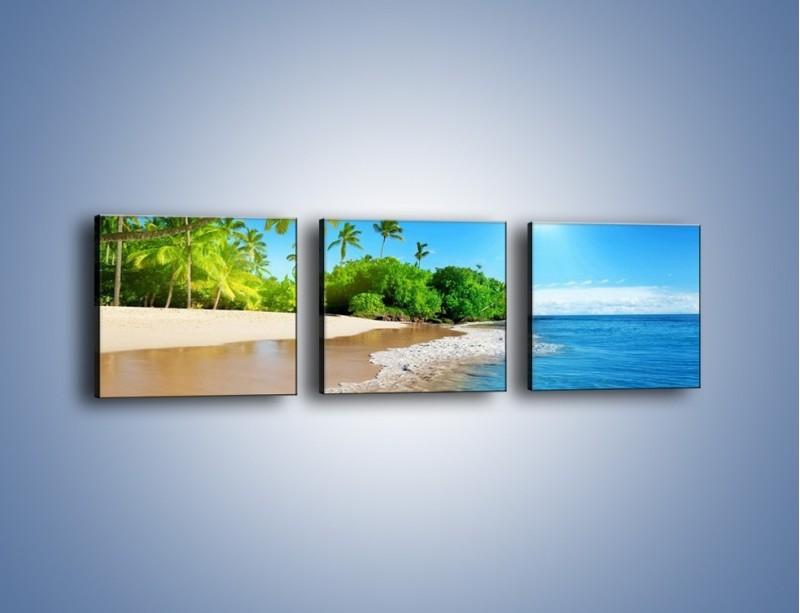 Obraz na płótnie – Bajeczne wakacyjne wspomnienia – trzyczęściowy KN1110AW1