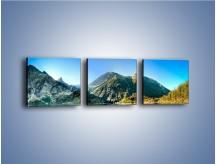 Obraz na płótnie – Chłodny klimat górski – trzyczęściowy KN844W1
