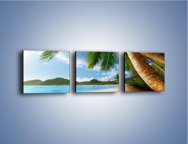 Obraz na płótnie – Idealne miejsce na ziemi – trzyczęściowy KN847W1