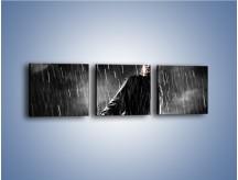 Obraz na płótnie – Brutalny męski świat – trzyczęściowy L105W1