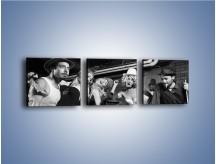 Obraz na płótnie – Czas na bilard – trzyczęściowy L234W1