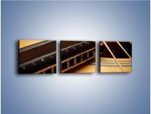 Obraz na płótnie – Instrumenty z drewna – trzyczęściowy O108W1