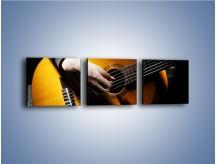 Obraz na płótnie – Chłopiec z gitarą – trzyczęściowy O109W1