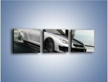 Obraz na płótnie – Driftujący Nissan GTR – trzyczęściowy TM007W1