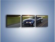 Obraz na płótnie – Ford Mustang Shelby GT500 na zakręcie – trzyczęściowy TM051W1