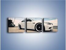 Obraz na płótnie – BMW M3 Strasse Forged Wheels – trzyczęściowy TM094W1