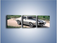 Obraz na płótnie – Chevrolet Camaro 1978 – trzyczęściowy TM105W1