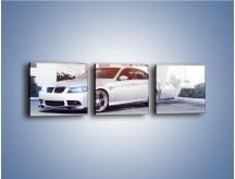 Obraz na płótnie – BMW 3 E90 – trzyczęściowy TM112W1
