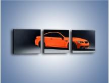 Obraz na płótnie – BMW M3 E92 Coupe Orange – trzyczęściowy TM168W1