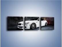 Obraz na płótnie – BMW M6 F13 Vossen Wheels – trzyczęściowy TM169W1