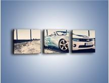 Obraz na płótnie – Chevrolet Camaro Cabrio – trzyczęściowy TM173W1
