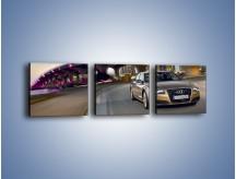 Obraz na płótnie – Audi A8 – trzyczęściowy TM188W1