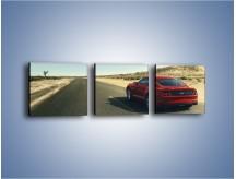 Obraz na płótnie – Ford Mustang GT 2018 – trzyczęściowy TM229W1