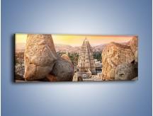 Obraz na płótnie – Świątynia Virupaksha w Indiach – jednoczęściowy panoramiczny AM787