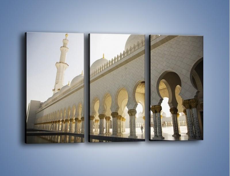 Obraz na płótnie – Bliskowschodnia architektura – trzyczęściowy AM177W2