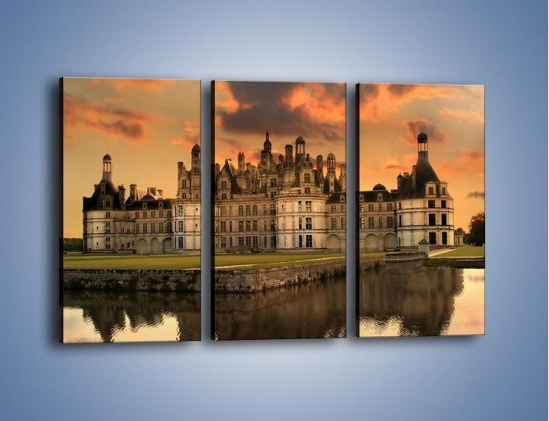 Obraz na płótnie – Stary zamek – trzyczęściowy AM200W2