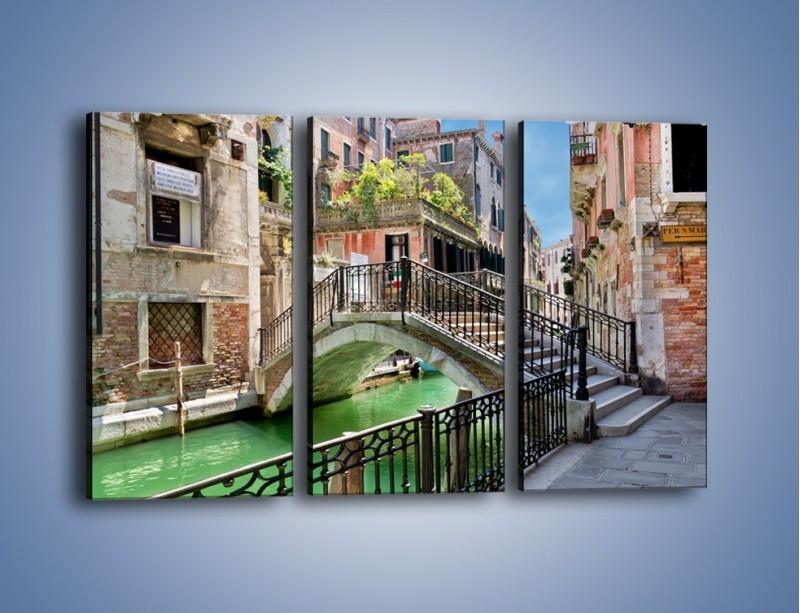 Obraz na płótnie – Wenecki most – trzyczęściowy AM523W2