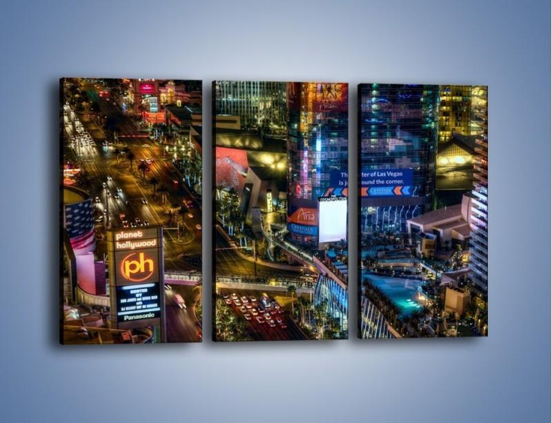Obraz na płótnie – Cosmopolitan of Las Vegas – trzyczęściowy AM577W2