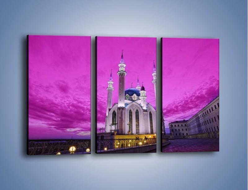 Obraz na płótnie – Meczet Kul Szarif – trzyczęściowy AM642W2