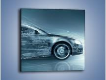 Obraz na płótnie – Auto z prędkością światła – jednoczęściowy kwadratowy GR264