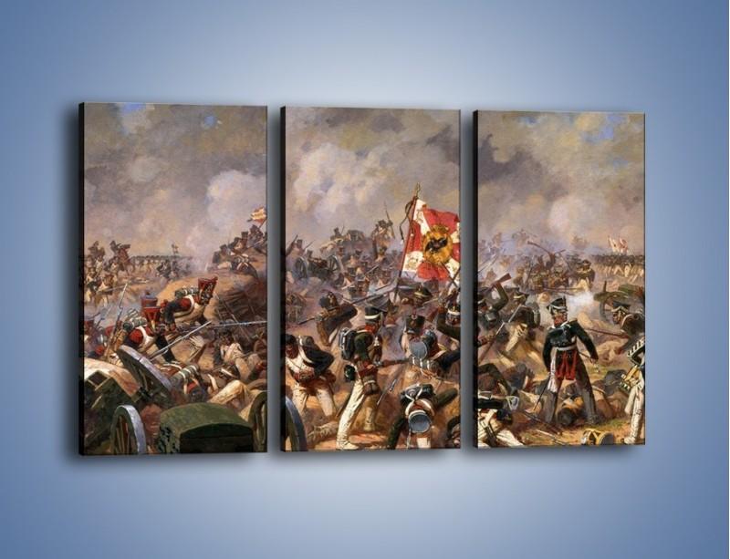 Obraz na płótnie – Wojna i jej skutki – trzyczęściowy GR133W2