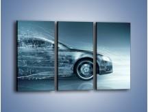 Obraz na płótnie – Auto z prędkością światła – trzyczęściowy GR264W2