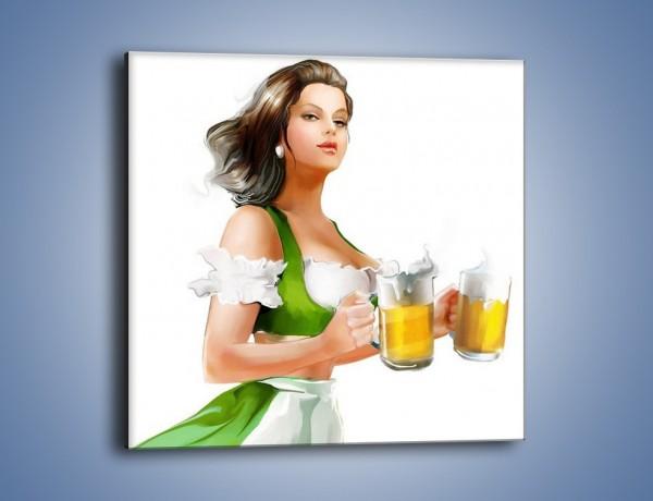 Obraz na płótnie – Piękna dostawa piwa – jednoczęściowy kwadratowy GR269