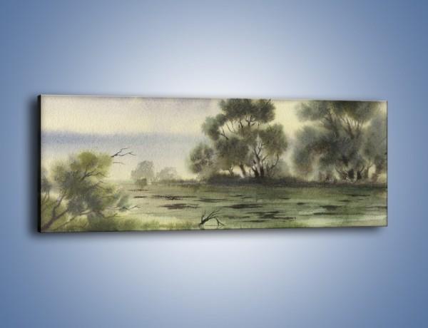 Obraz na płótnie – Smutek i melancholia – jednoczęściowy panoramiczny GR071