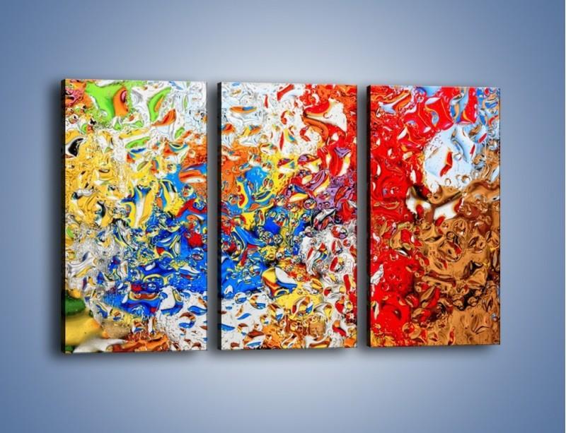 Obraz na płótnie – Każdy kolor coś znaczy – trzyczęściowy GR407W2