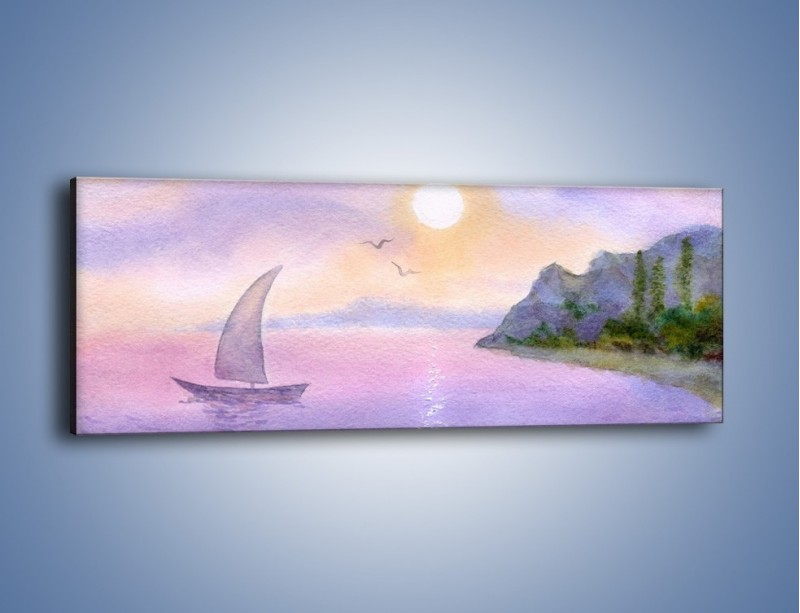Obraz na płótnie – Uroki jesiennej pory – jednoczęściowy panoramiczny GR096