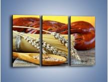 Obraz na płótnie – Chleb pszenno-kukurydziany – trzyczęściowy JN090W2