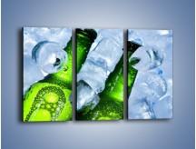 Obraz na płótnie – Czas na zimne piwko – trzyczęściowy JN148W2