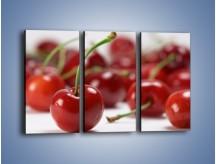 Obraz na płótnie – Czereśnia rządzi w kuchni – trzyczęściowy JN223W2