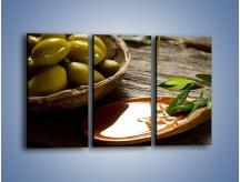 Obraz na płótnie – Bogactwa wydobyte z oliwek – trzyczęściowy JN270W2