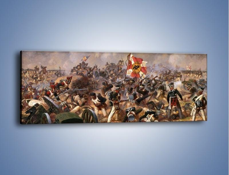 Obraz na płótnie – Wojna i jej skutki – jednoczęściowy panoramiczny GR133