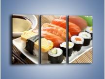 Obraz na płótnie – Azjatyckie posiłki – trzyczęściowy JN355W2