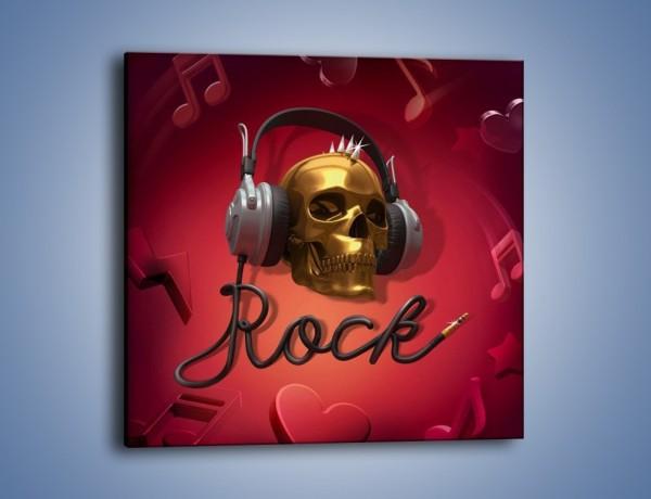Obraz na płótnie – Ostre kawałki rocka – jednoczęściowy kwadratowy GR302