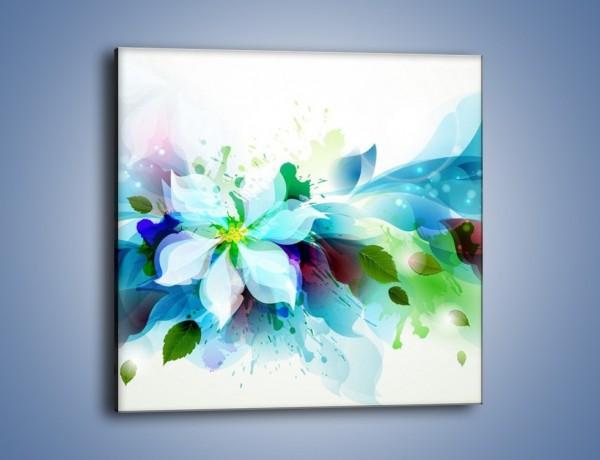Obraz na płótnie – Kwiat i jego magia – jednoczęściowy kwadratowy GR348