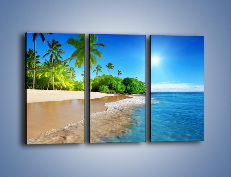 Obraz na płótnie – Bajeczne wakacyjne wspomnienia – trzyczęściowy KN1110AW2