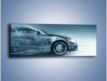 Obraz na płótnie – Auto z prędkością światła – jednoczęściowy panoramiczny GR264