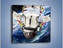 Obraz na płótnie – Dotrzeć na księżyc – jednoczęściowy kwadratowy GR355
