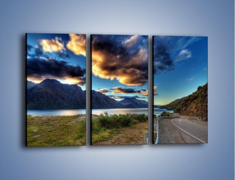 Obraz na płótnie – Droga w jedną stronę – trzyczęściowy KN752W2