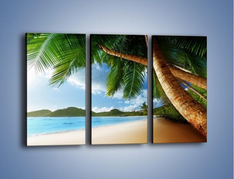 Obraz na płótnie – Idealne miejsce na ziemi – trzyczęściowy KN847W2