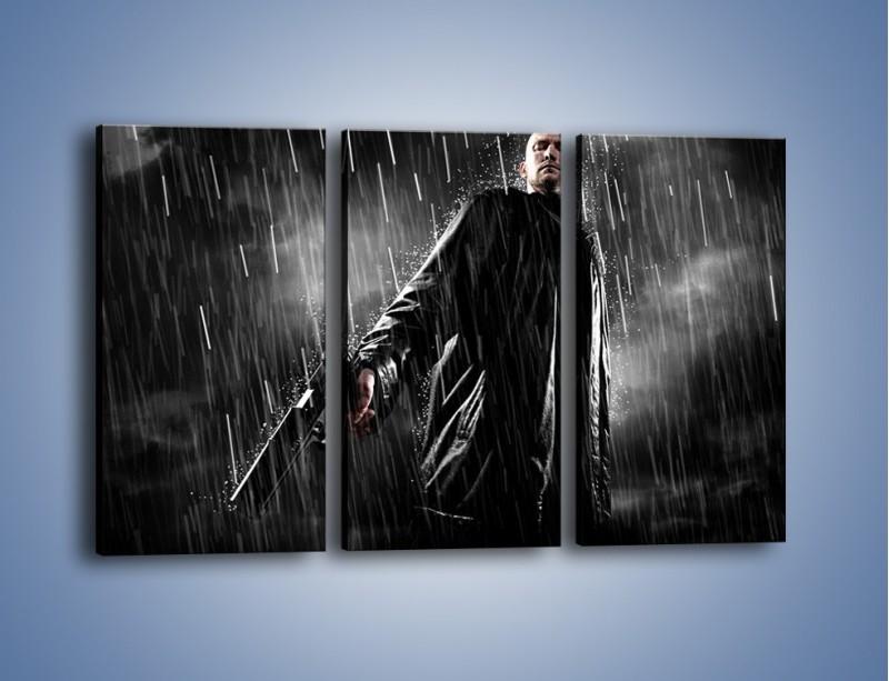 Obraz na płótnie – Brutalny męski świat – trzyczęściowy L105W2